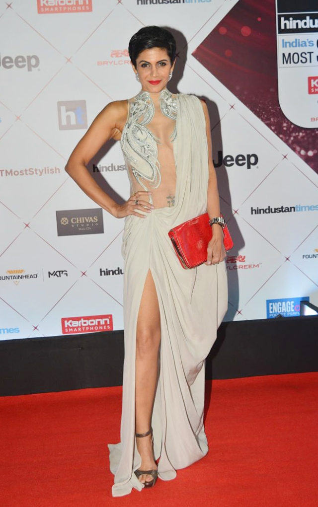 Mandira Bedi is dressed to kill.