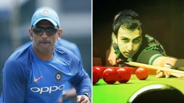 MS Dhoni and Pankaj Advani  were conferred with the Padma Bhushan.