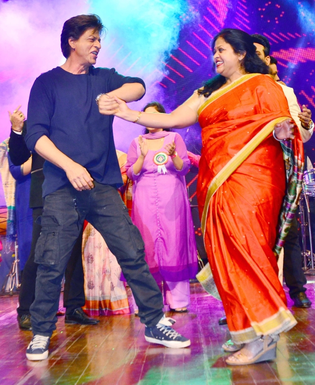 Shah Rukh Khan, the eternal romancer.