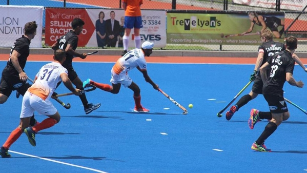 India will play the final of the Tauranga-leg of the tournament against Belgium on Sunday.