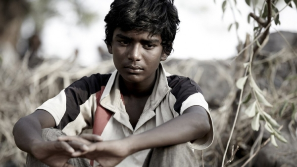 A still from the Marathi film <i>Fandry, </i>which revolves around a low caste 13-year-old boy.