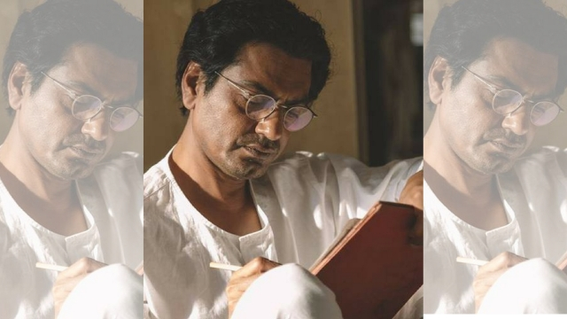 Nawazuddin Siddiqui as Manto, the 'serial offender'.