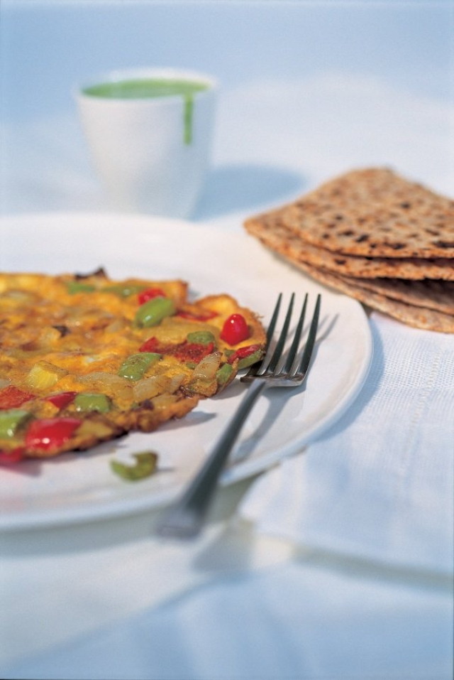 The yummylicious masala omelette