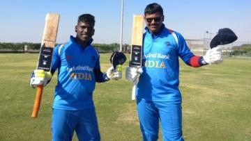 Sunil Ramesh and Ajay Kumar Reddy scored centuries.