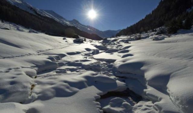 Davos scenery.