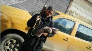 Siddhartha Dhar alias Abu Rumaysah had uploaded this picture with an AK-47 and his new-born baby to taunt the British authorities under whose watch he was able to leave London and travel to Syria with his wife and three children.