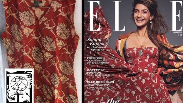 People Tree had accused Dior of blatant plagiarism after Bollywood actress Sonam Kapoor was seen wearing a brick-toned dress on the cover of Elle India's January issue.