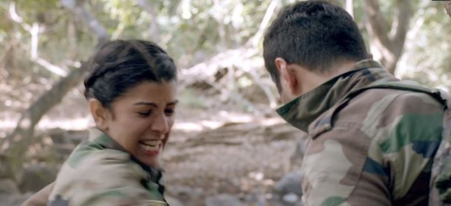 Kaur in one of the last few scenes, when she confronts her assaulter.