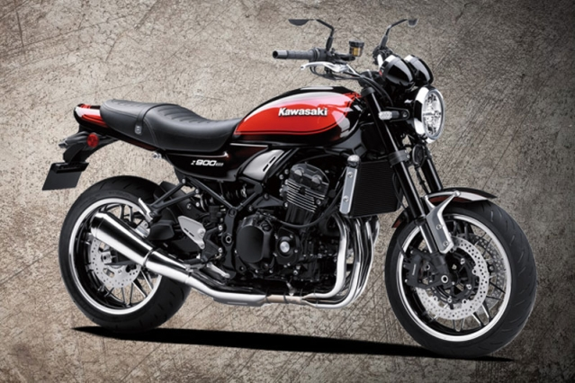 The Kawasaki Z900 RS comes with a liquid-cooled, 948cc, in-line four-cylinder engine