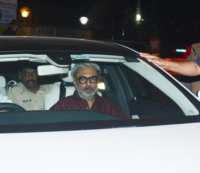 Sanjay Leela Bhansali - the man of the moment arrives.