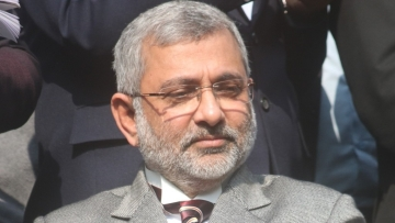 Justice Kurian Joseph during a press conference in New Delhi on Jan 12, 2018.