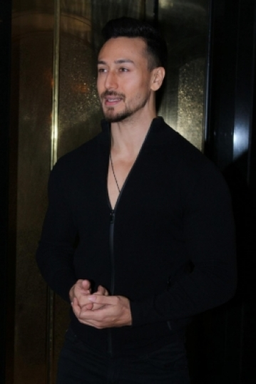 "Mumbai: Actor Tiger Shroff at the launch of ""Super Fight League Season 2"" in Mumbai on Dec 18, 2017. (Photo: IANS)"