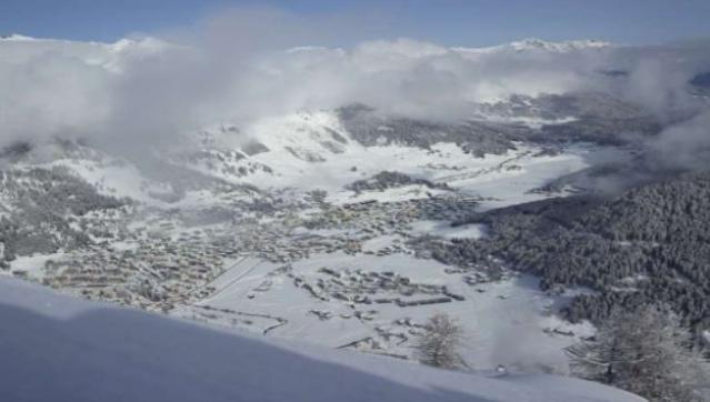 Top view of Davos.