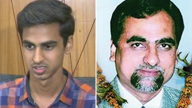 In a press conference held recently, Justice Loya's son, Anuj Loya (L) had said that for the family, Judge Loya's passing in December 2014 was a sad and private matter.