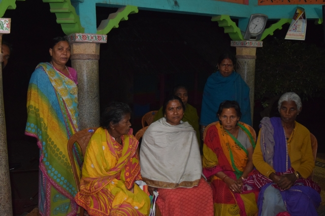 The women from Baginipeta Village share their stories of loss due to Chronic Kidney Disease
