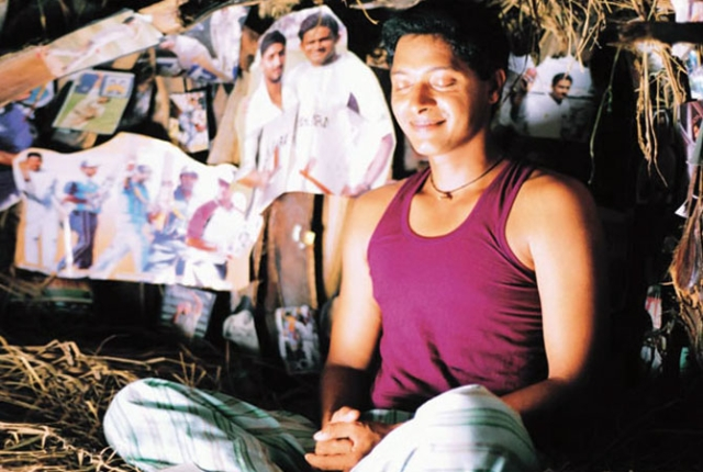 Shreyas Talpade in and as <i>Iqbal.</i>