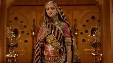 Deepika Padukone in a still from <i>Padmaavat</i>.