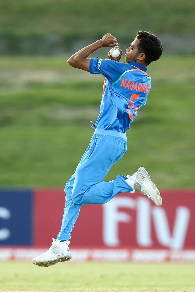 Kamlesh Nagrakoti picked up three wickets for 29 runs.
