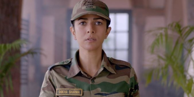 Nimrat Kaur, as Sharma, never gives up.