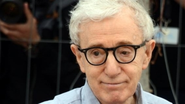 Woody Allen at Cannes 2016.