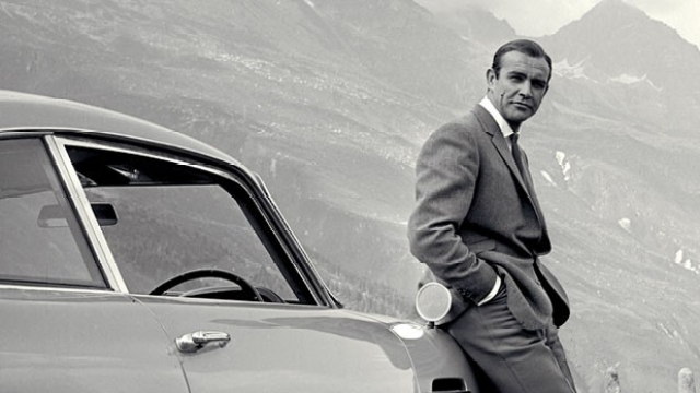 Connery had magnetic looks and just enough naughty charm.