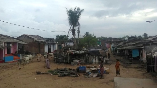 The fishing hamlet of Golabandha was severely damaged after Cyclone Phailin.