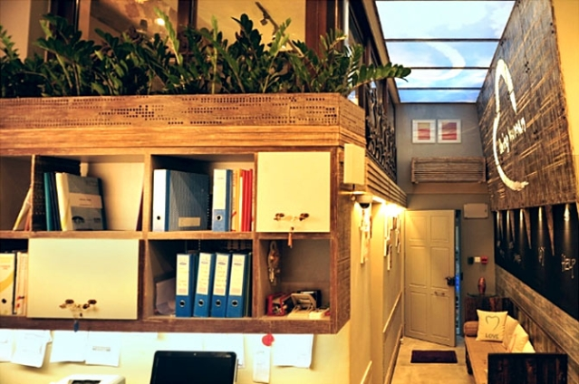 Inside the Being Human 'office' in Bandra, unclaimed by both the foundation and the brand.