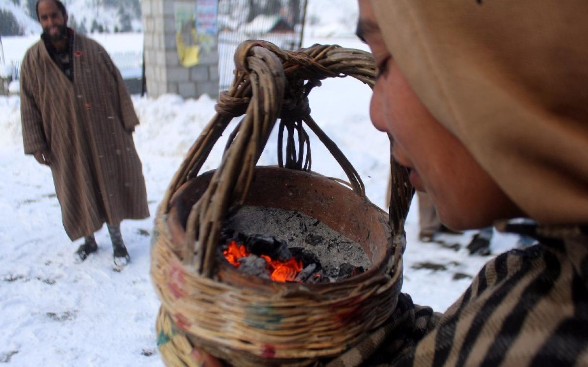 Image result for fire pot kashmir