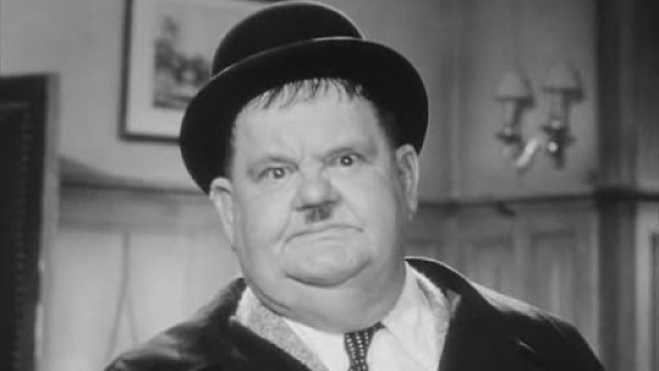 "Oliver Norvall ""Babe"" Hardy is one half of the iconic Laurel & Hardy comedy duo"