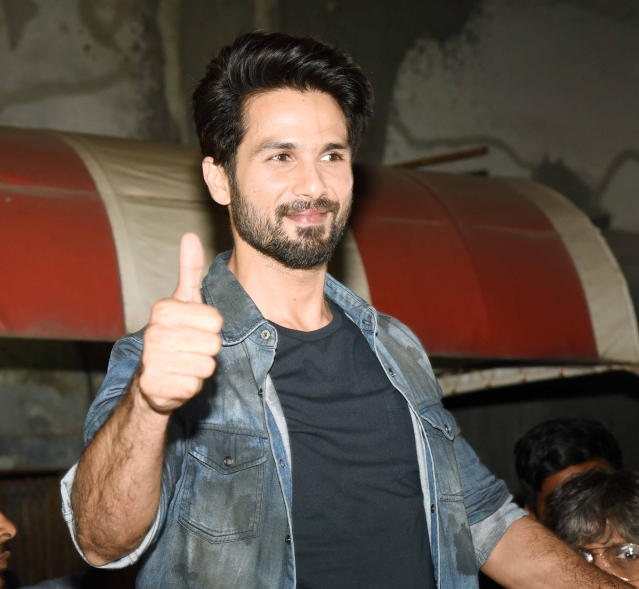 Shahid is finally able to signify that everything is A-OK.