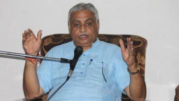 RSS leader Manmohan Vaidya.