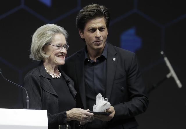 Shah Rukh Khan in Davos.
