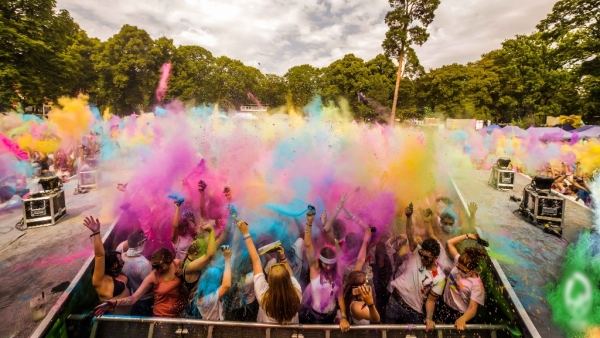 The Festival of Colours.