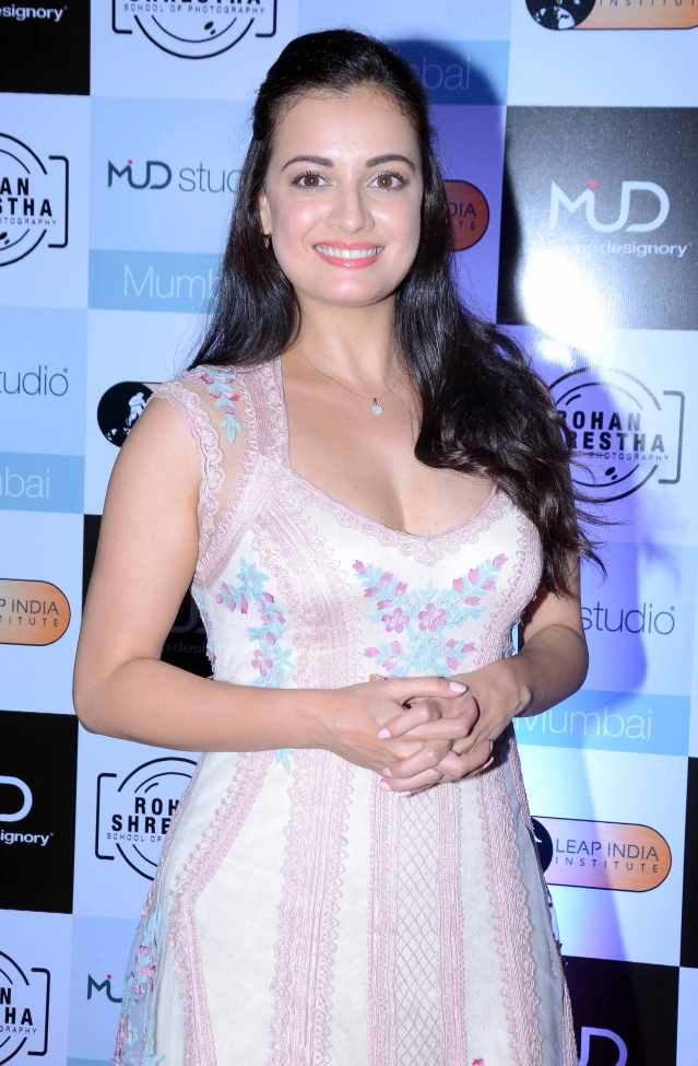 A radiant Dia Mirza, looking gorgeous as always.