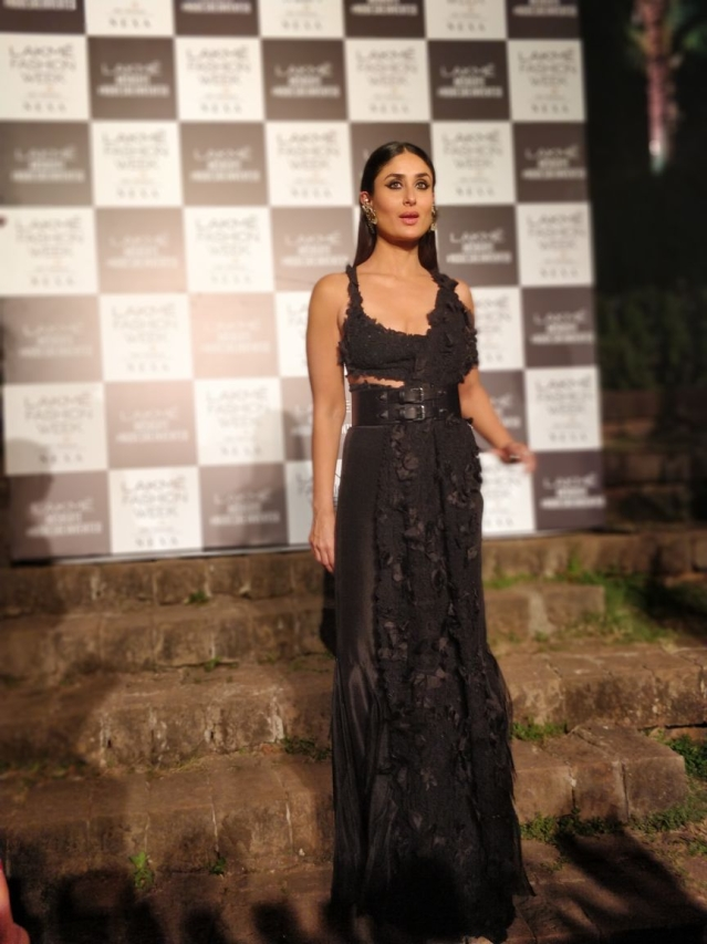 Kareena Kapoor in an Anamika Khanna creation.