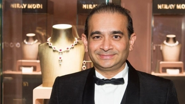 Fugitive diamantaire Nirav Modi.
