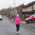 Jean Harcourt, 83, a great grandmother is training for the London marathon to cope with the death of her brother.