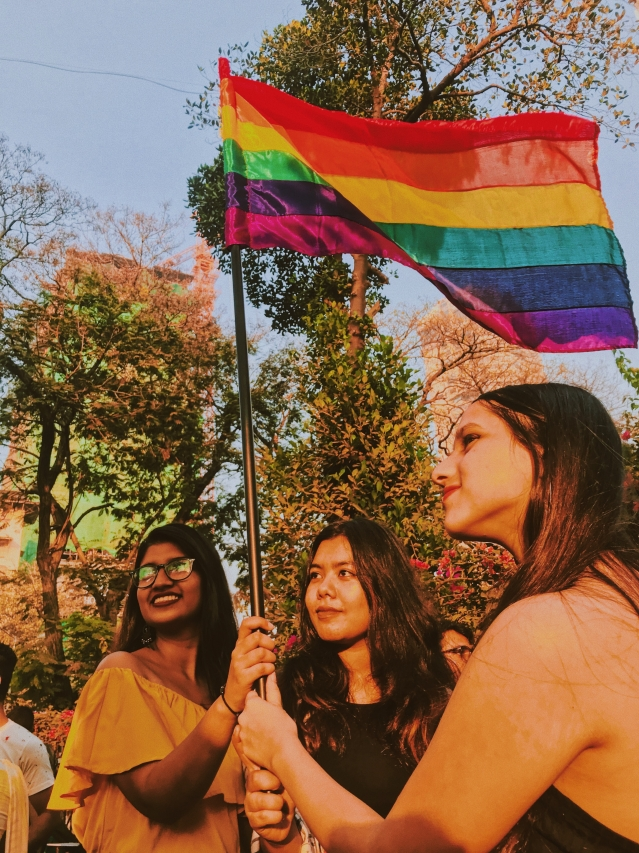 Glimpses from Mumbai's Pride March 2018.