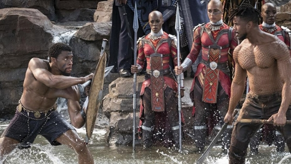A still from Disney's <i>Black Panther.</i>