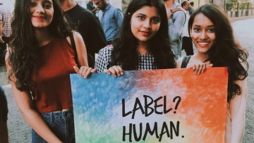 Glimpses from Mumbai's Pride March.