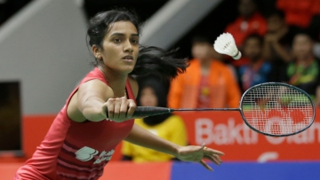 Olympic silver medallist PV Sindhu led the women's team to a thrilling 3-2 win over Hong Kong.