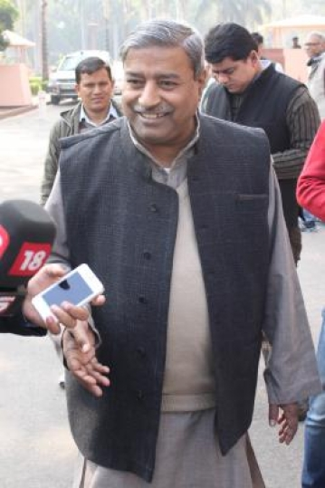 BJP MP Vinay Katiyar. (Photo: Amlan Paliwal/IANS)