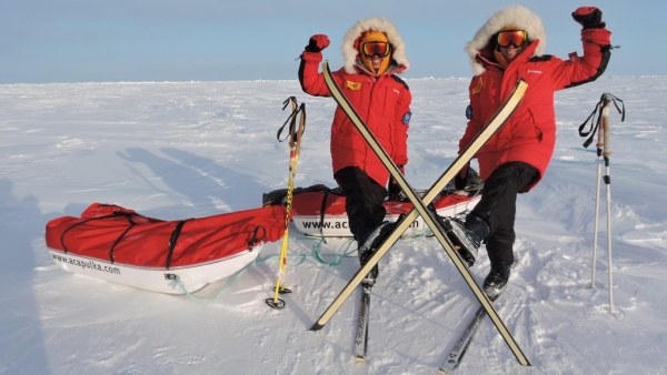 They are the first twins and siblings (and youngest women ever) to have scaled all Seven Summits.