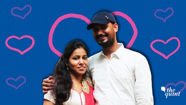 Sumit and Azra met in college and fell in love. They got married even though they faced opposition from their parents.