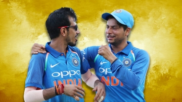 File photo of Yuzvendra Chahal and Kuldeep Yadav.