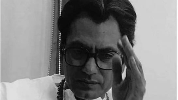 <p>Nawazuddin Siddiqui as Shiv Sena founder Bal Thackeray.  </p>