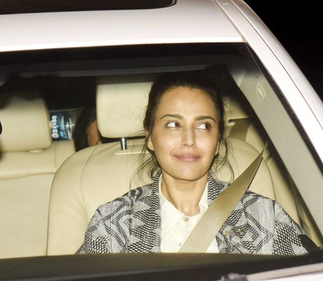 Swara Bhasker at the screening of <i>PadMan.</i>