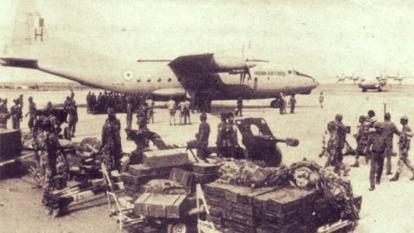 Operation Cactus was India's mission in the Maldives, which prevented a military takeover of the country in 1988. File Photo.