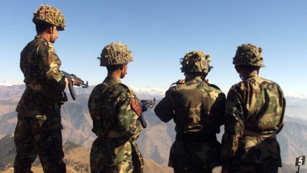 Pakistani soldiers hold exercises overlooking the Indian side of the Kashmir post in Chirikot in the Poonch sector of Pakistan-controlled Kashmir. This is a representational image only.