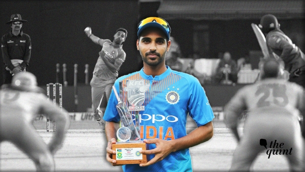 In Stats: Bhuvi – From  White-Ball Specialist to Complete Bowler